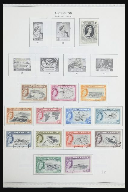 Stamp collection 31681 British Commonwealth in Africa 1953-1985.