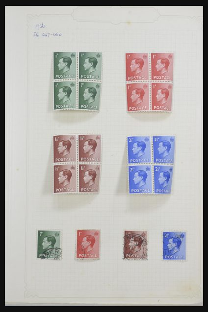 Stamp collection 31687 Great Britain 1936-1969.