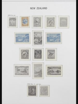 Stamp collection 31690 New Zealand 1920-1994.