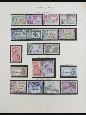 Stamp collection 31698 Pitcairn 1940-1992.