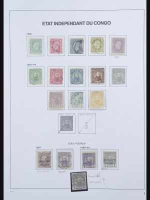 Stamp collection 31716 Belgian Congo 1886-1960.