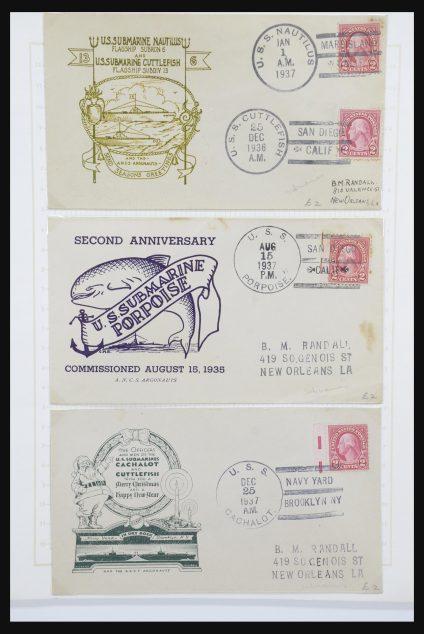 Stamp collection 31724 USA ship post covers 1920-1940.