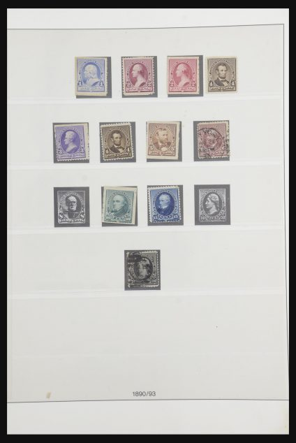 Stamp collection 31725 USA 1866-1989.