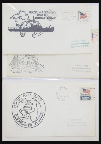 Stamp collection 31728 USA covers and FDC's 1880-1980.