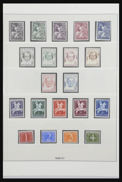 Stamp collection 31733 Netherlands 1946-1975.