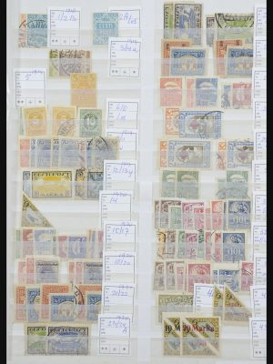 Stamp collection 31737 Baltic States 1918-2001.