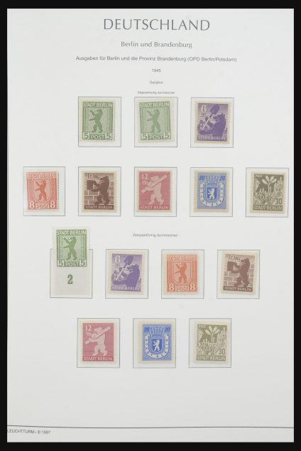 Stamp collection 31740 Germany 1920-1948.