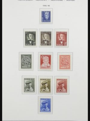 Stamp collection 31743 Norway 1945-2009.