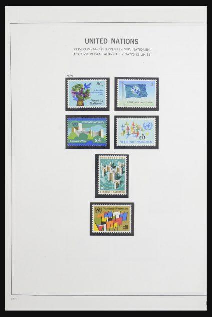 Stamp collection 31744 Verenigde Nations Vienna 1979-2018!