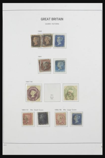 Stamp collection 31753 Great Britain 1840-1970.