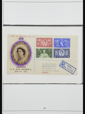 Stamp collection 31784 Great Britain 1952-1970.