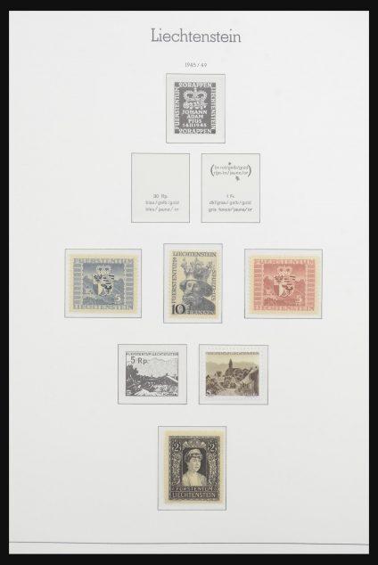 Stamp collection 31792 Liechtenstein 1945-2018!