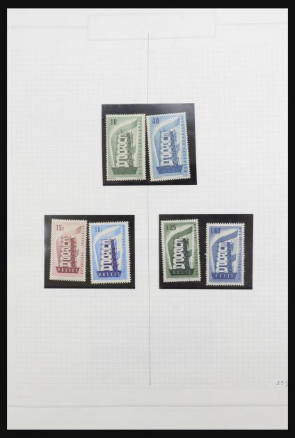 Stamp collection 31795 Europa CEPT 1956-2014.