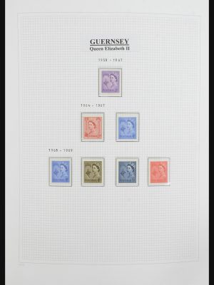 Stamp collection 31796 Guernsey 1969-2010.