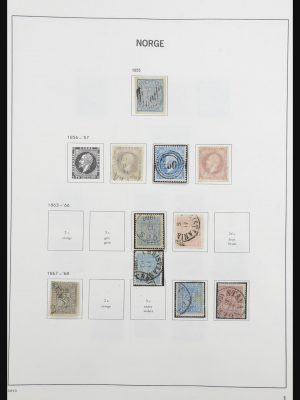 Stamp collection 31817 Norway 1855-2013!