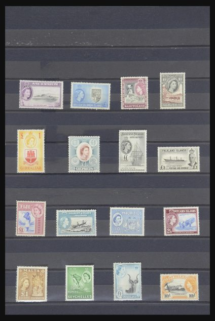 Stamp collection 31824 British colonies 1938-1960.