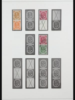 Stamp collection 31842 Bundespost combinations 1951-2003.