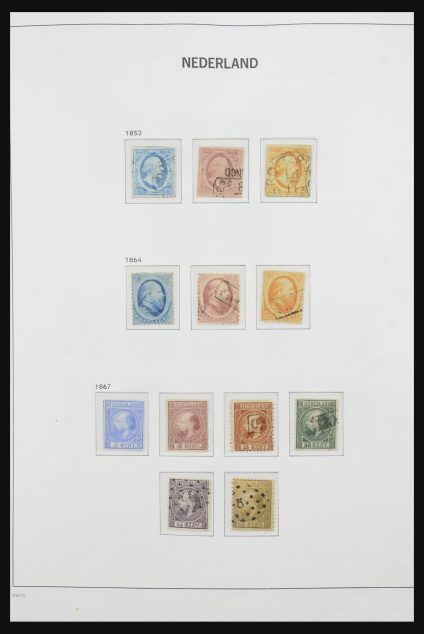 Stamp collection 31844 Netherlands 1852-1995.