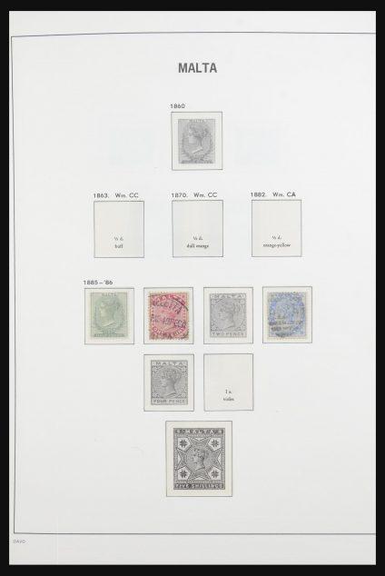 Stamp collection 31851 Malta 1885-1980.
