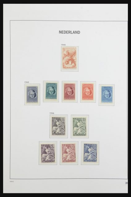 Stamp collection 31852 Netherlands 1945-1969.