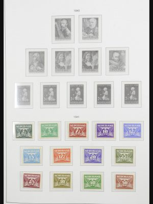 Stamp collection 31853 Netherlands 1941-1983.