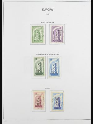 Stamp collection 31854 Europa CEPT 1956-2004.