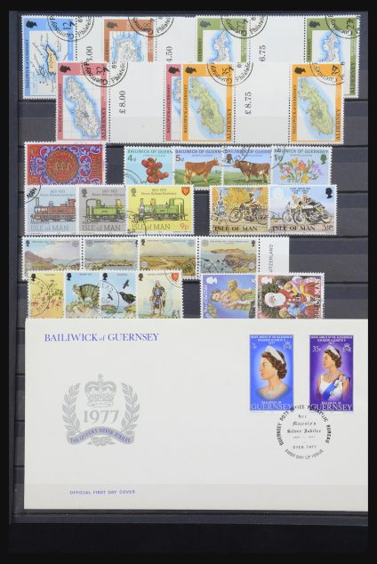 Stamp collection 31857 Great Britain 1855-1974.