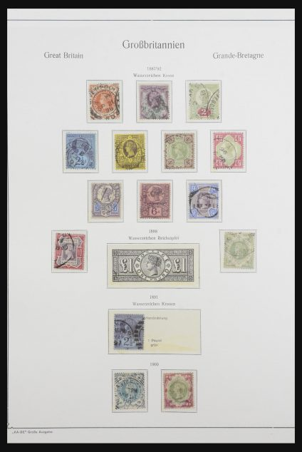 Stamp collection 31863 Great Britain 1858-1973.
