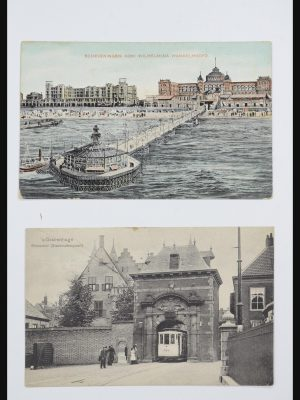Stamp collection 31868 Netherlands picture postcards.