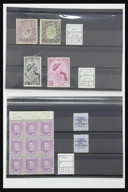 Stamp collection 31872 World better issues 1850-1950.