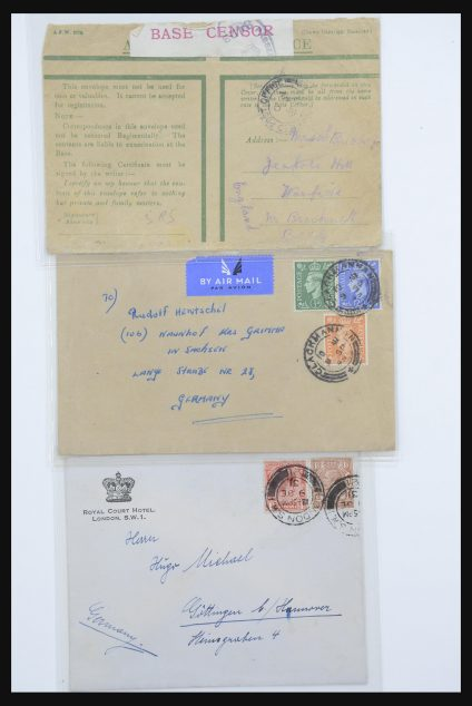 Stamp collection 31874 World covers.