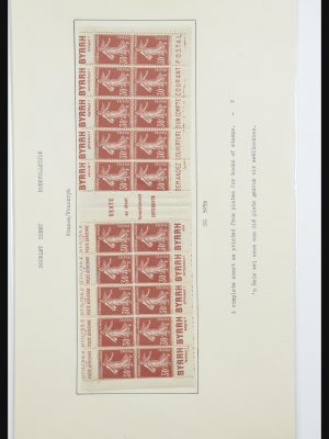 Stamp collection 31877 France 1900-1947.