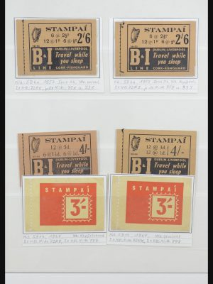 Stamp collection 31880 Ireland stamp booklets 1953-1999.