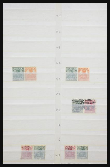 Stamp collection 31884 Germany combinations 1920-1980.