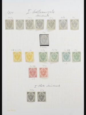 Stamp collection 31886 Bosnia Herzegovina 1879-1918.