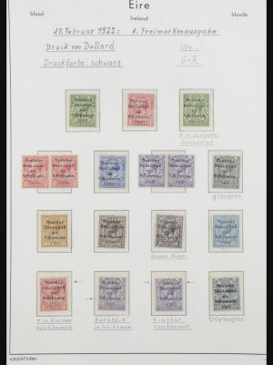 Stamp collection 31893 Ireland 1922-1999.