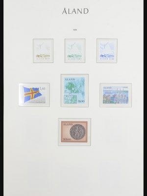Stamp collection 31897 Scandinavia 1944-2004.