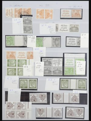 Stamp collection 31899 Germany combinations 1949-2000.