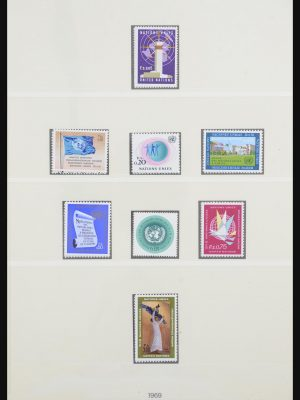 Stamp collection 31905 United Nations 1951-2012.