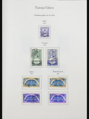 Stamp collection 31908 Europa CEPT 1950-2003.
