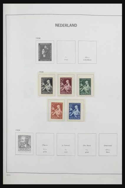 Stamp collection 31944 Netherlands 1937-1987.