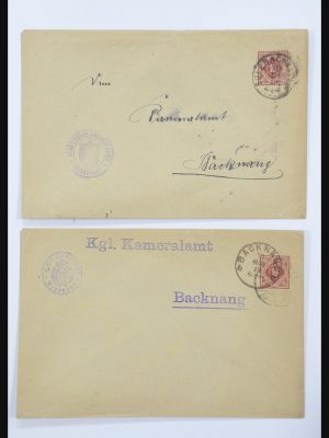 Stamp collection 31952 German Reich cards.