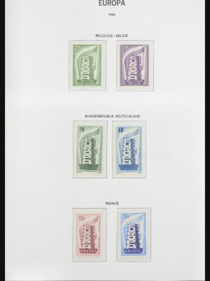 Stamp collection 31954 Europa CEPT 1956-2001.