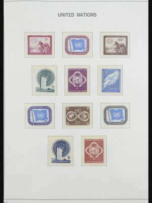 Stamp collection 31956 United Nations 1951-2005.