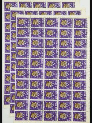 Stamp collection 31962 Belgian Congo-Sud-Kasai 1961.