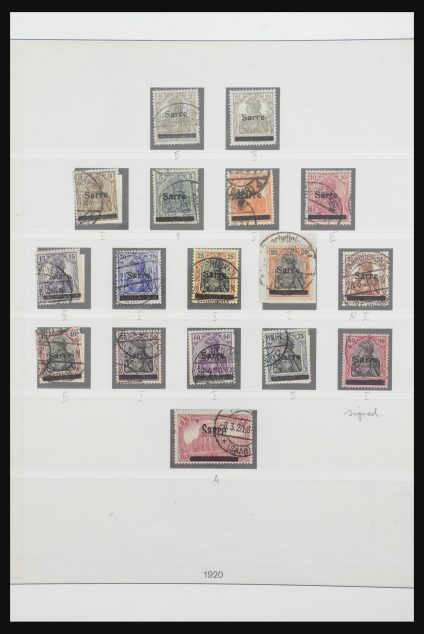 Stamp collection 31992 Saar 1920-1959.