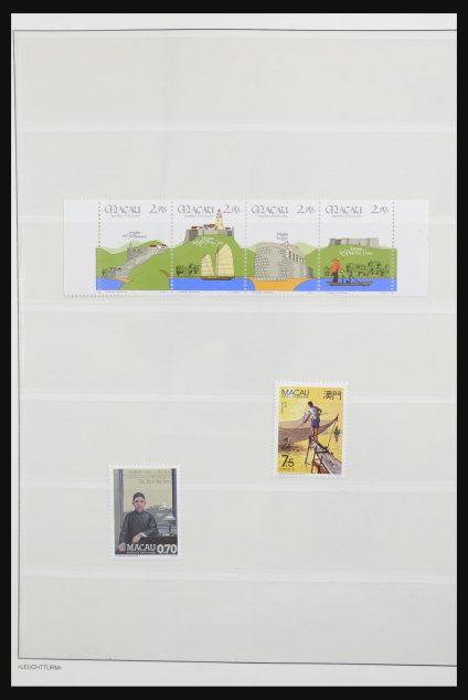Stamp collection 31993 Macau 1984-2003.