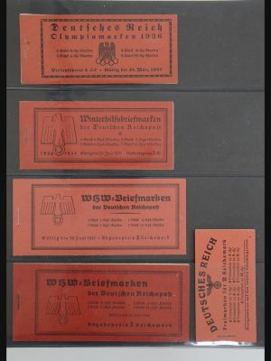 Stamp collection 32013 Germany stamp booklets 1936-2009.