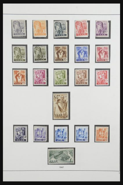 Stamp collection 32014 Germany 1945-1959.