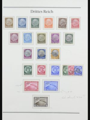 Stamp collection 32019 German Reich 1933-1945.